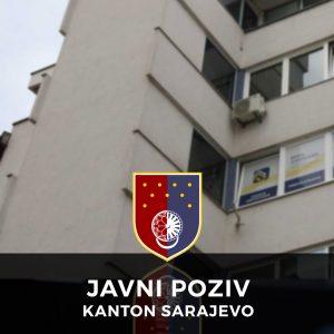 javni poziv kanton sarajevo